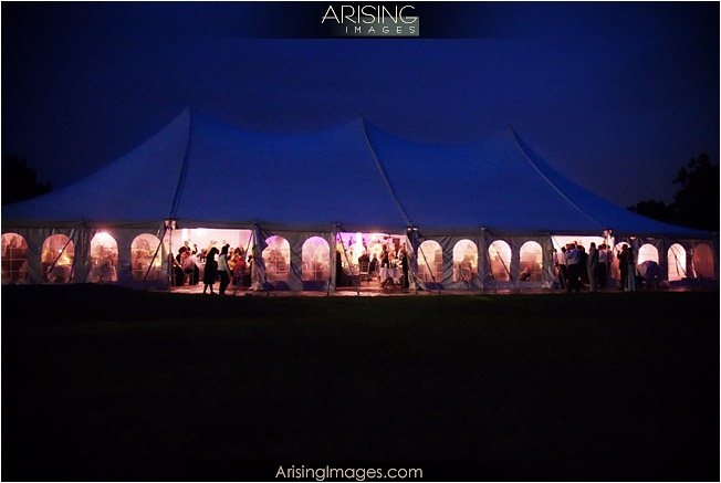 meadowbrook mansion tent wedding