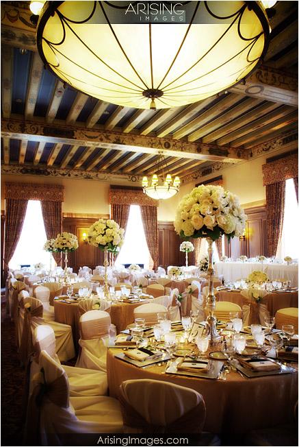 Detroit Athletic Club banquet room