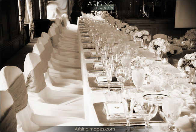 Head Table Setup At Dac In Detroit Mi Wedding At The Detroit Athletic Club In Mi Arising Images & Banquet Table Set Up | Wedding Tips and Inspiration