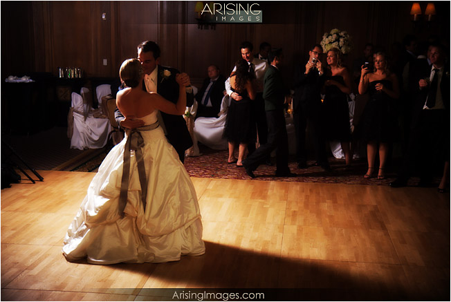 first dance at the DAC in Detroit
