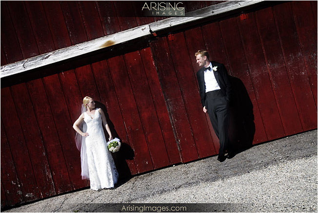 Wedding photography in downtown Rochester, Michigan