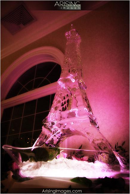 cool ice sculpture at cherry creek golf club