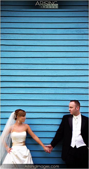 Wedding photos at old mill race village near northville, MI