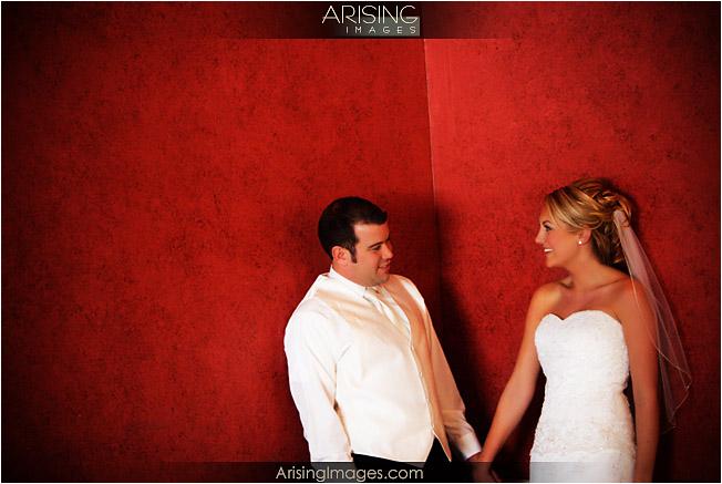 detroit golf club indoor wedding photos