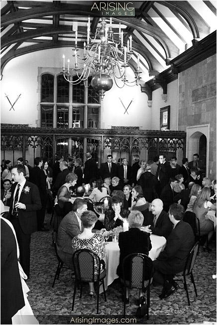 wedding reception at pine knob mansion