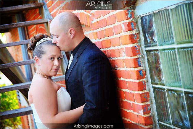 Urban style wedding photos in Saline, Michigan