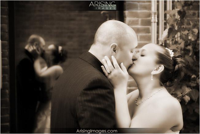 downtown wedding photos in saline, MI