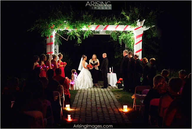 moonlight ceremony at wellers