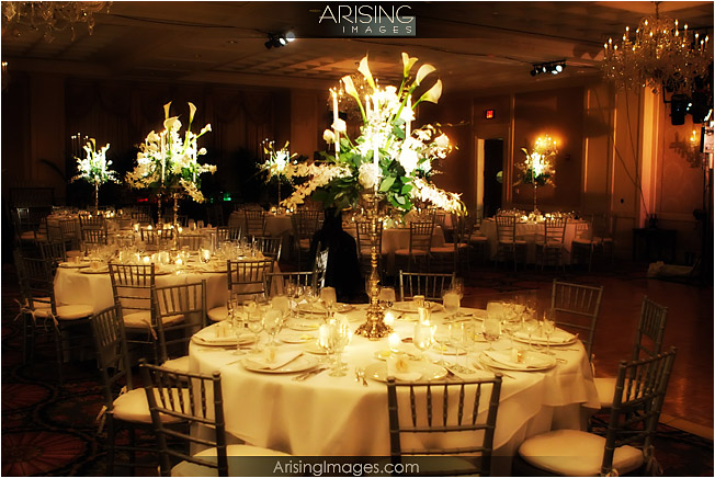 Wedding reception at the Townsend hotel in birmingham