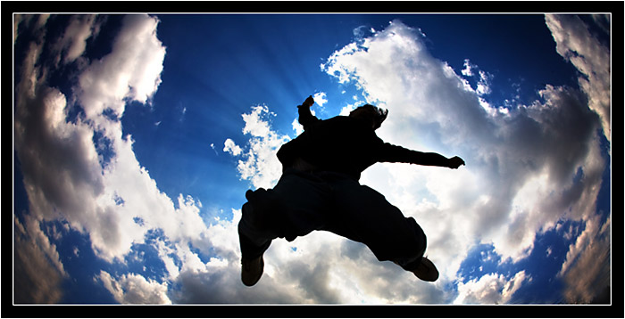 prem jumping silhouette