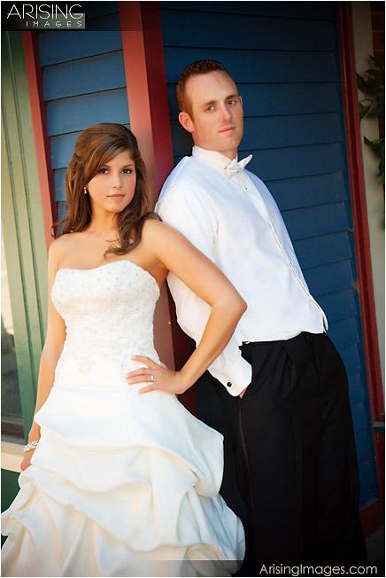 wedding photos in downtown port huron