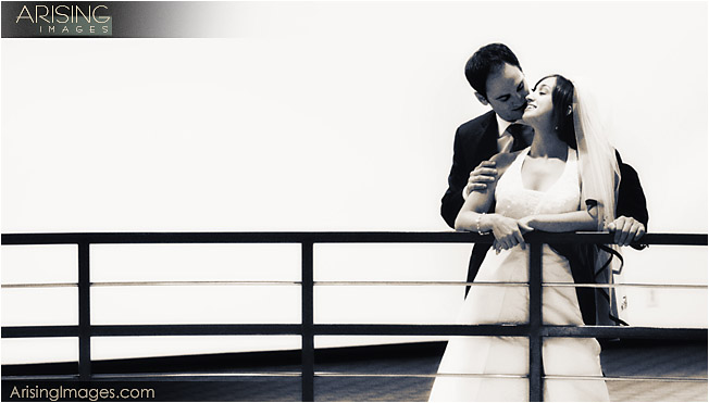 Wedding photos at the Westin Southfield Atrium