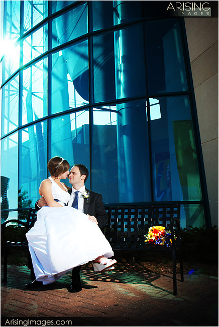 Wedding pictures by Southfield Library