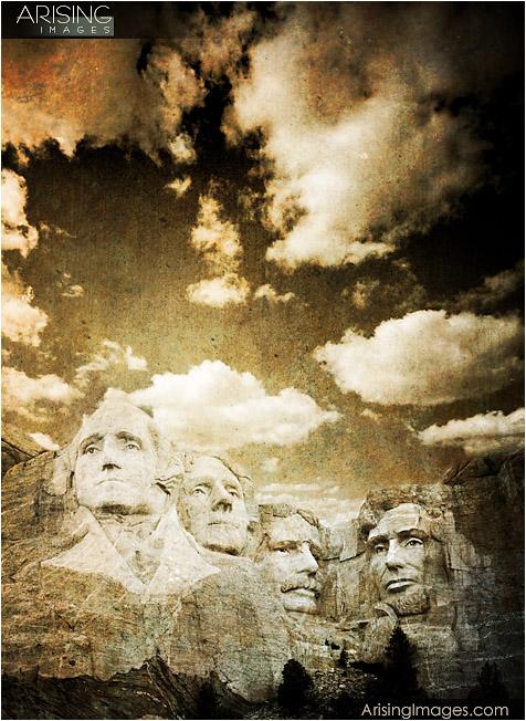 Mt. Rushmore, Black Hills, SD