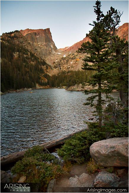 Emerald Lake Sunrise, Rocky Mountain National Park