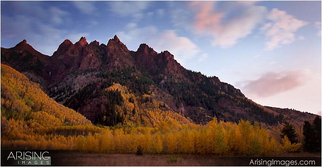 Sunrise near Aspen