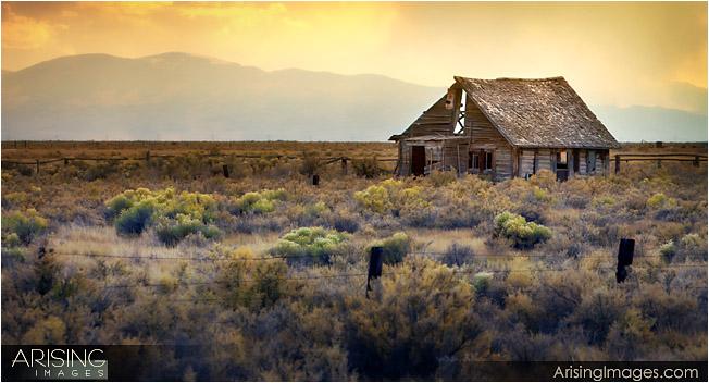 Old shack in rural Colorado