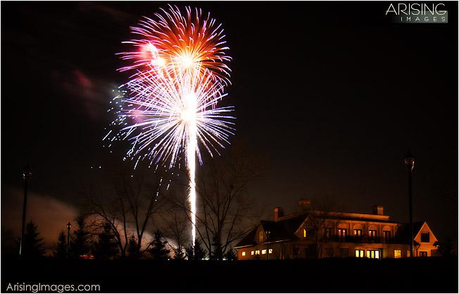 Fireworks in Rochester, MI