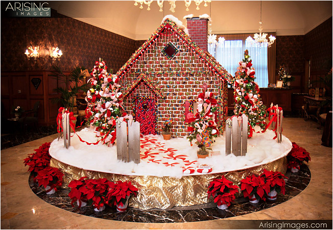 royal park hotel, gingerbread house
