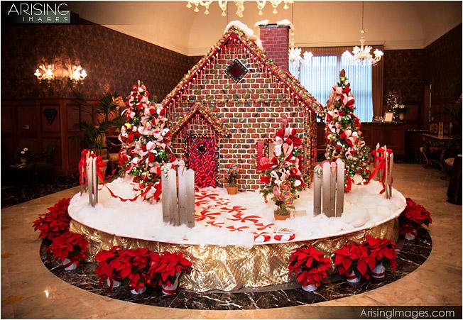 royal park hotel, gingerbread house