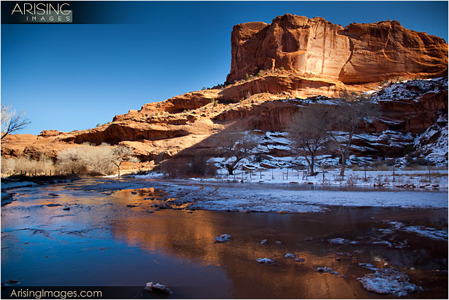 Canyon De Chelly - view from inside the canyon