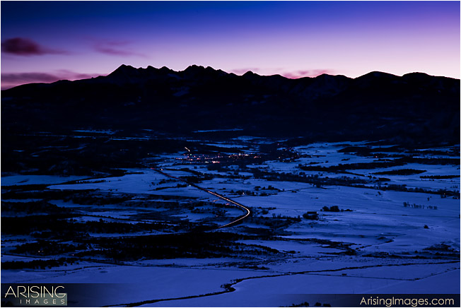 Mountains near Mesa Verde National Park