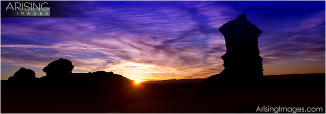 Bisti Badlands sunset