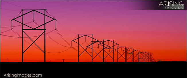 power lines near Chaco