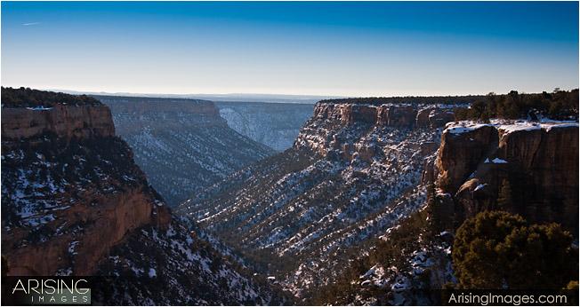 Mesa Verde National Park - mountain view