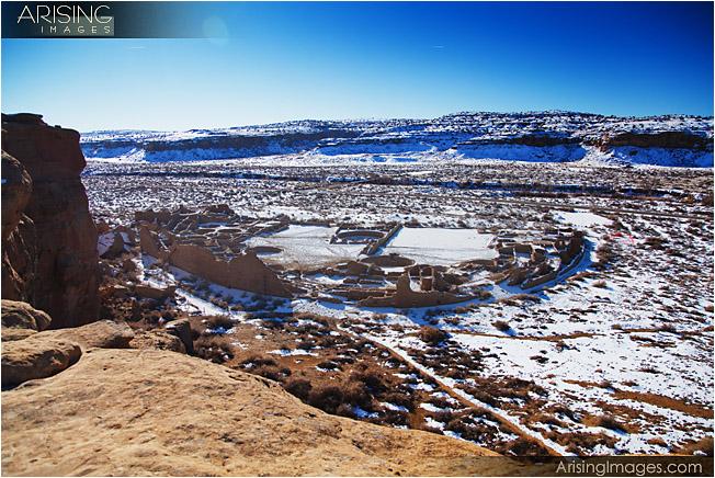 Chaco National Park - Pueblo Bonito