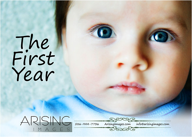 the first year baby plan
