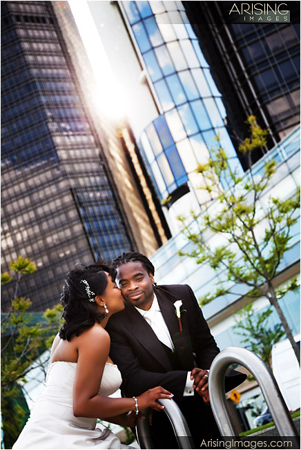 wedding photography in downtown detroit