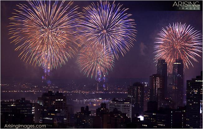 new york city fireworks 2009