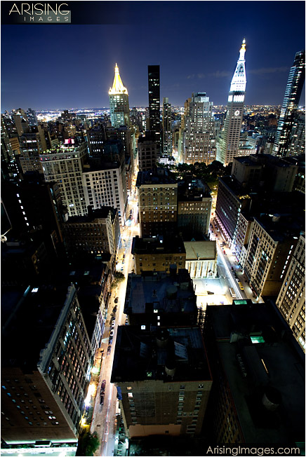 new york city from the rooftop