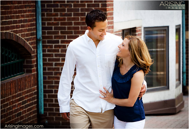 unique engagement photography in michigan