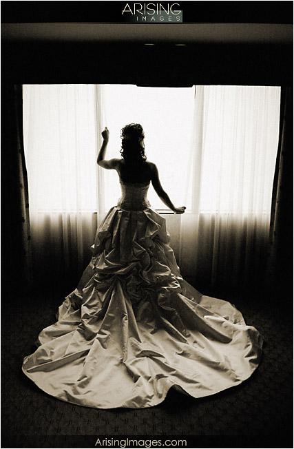 wedding at the Hyatt in Dearborn, MI