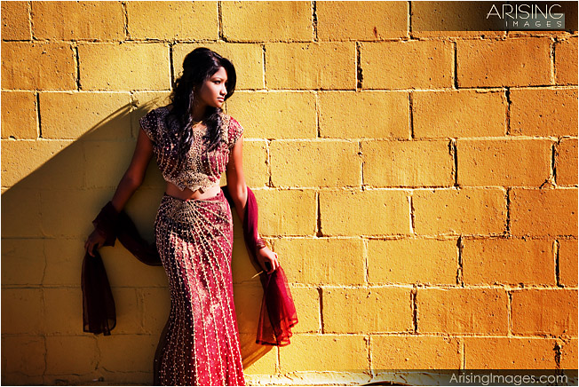 senior pics in traditional indian outfit