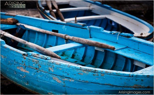 Capri, Italy row boats