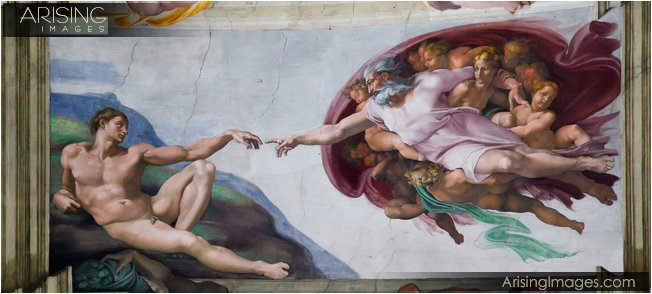 Vatican City and Museum with the Sistine Chapel and Michelangelo's paintings in Rome, Italy