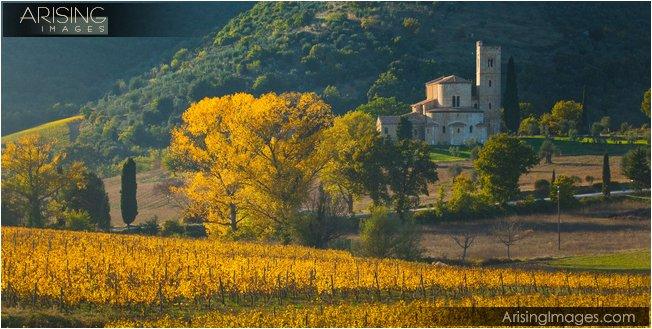 Abbizia di St. Antimo Tuscany region of Italy