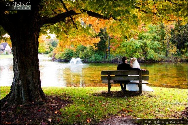wedding photos on grounds of addison oaks