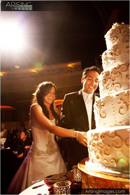 opera house theater wedding in detroit, mi