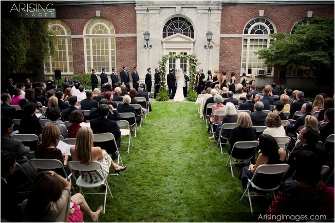 location for outdoor wedding ceremony in michigan