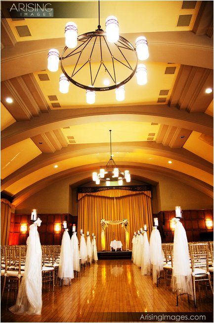 wedding ceremony at the michigan league