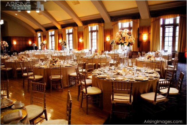 wedding at the michigan league, ann arbor, MI