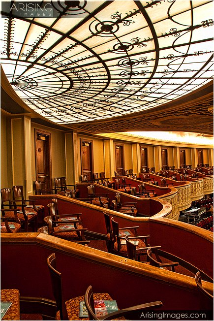 box seats at the detroit opera house