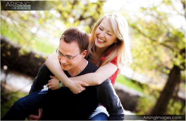 best engagement photos in Rochester Hills Michigan