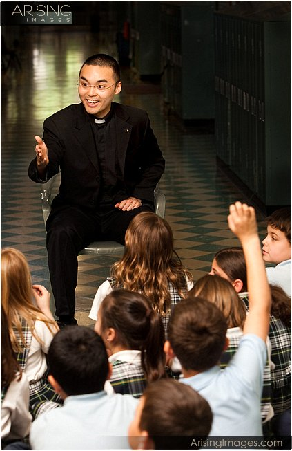 magazine photosfather phil ching from st. lawrence parish in utica, mi