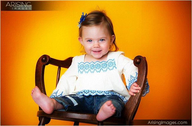 creative baby portraits in rochester, michigan