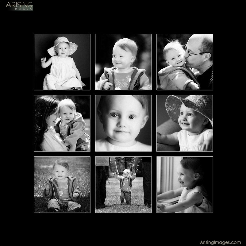 best baby photo collage in southeastern michigan